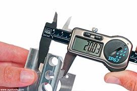 Calibração medidor de dureza