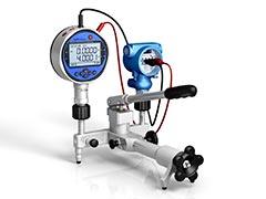 Calibração manômetro bourdon