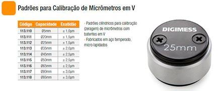 empresas de aferição de micrometro