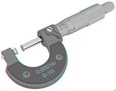 aferição de micrometro