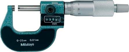 prestação de serviços em calibração de micrometros