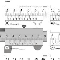Manutenção paquímetro digital
