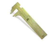 Calibração de paquímetro e micrômero