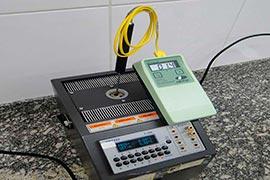 Empresas de aferição de termômetro