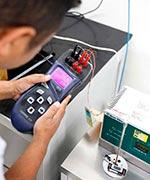 Calibração rbc anemômetro
