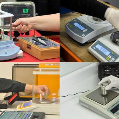 Aferição de balanças eletrônicas
