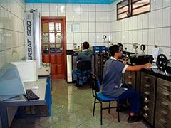 Laboratório de calibração de vazão