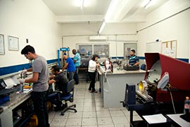 Calibração equipamentos laboratório