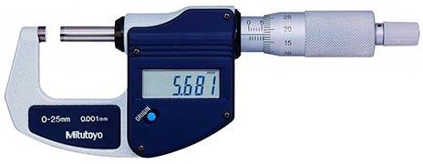 Calibração de micrometro externo - Atendimento somente na região Sul do Brasil.