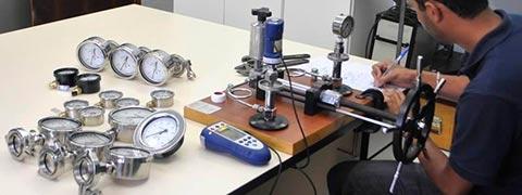 Laboratório de calibração de manômetros - Atendimento somente na região Sul do Brasil.