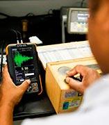Calibração de aparelho de ultra som