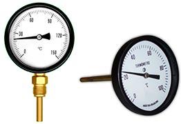 Calibração de termômetros bimetálicos