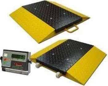 Serviços de calibração de balanças rodoviárias
